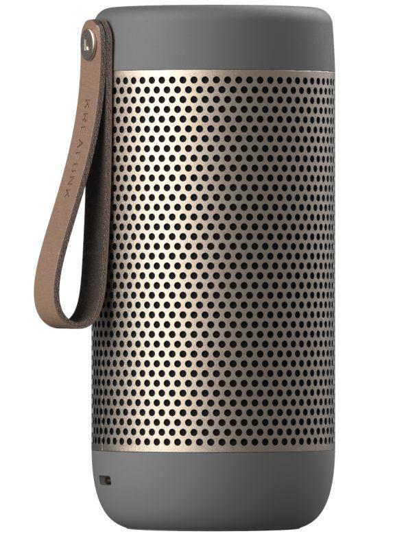 Kreafunk aCOUSTIC Blutooth højtaler- valgfri farve Cool Grey-44