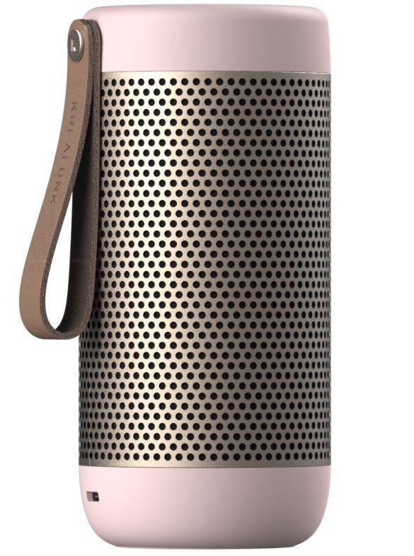 Kreafunk aCOUSTIC Blutooth højtaler- valgfri farve Dusty Pink-43