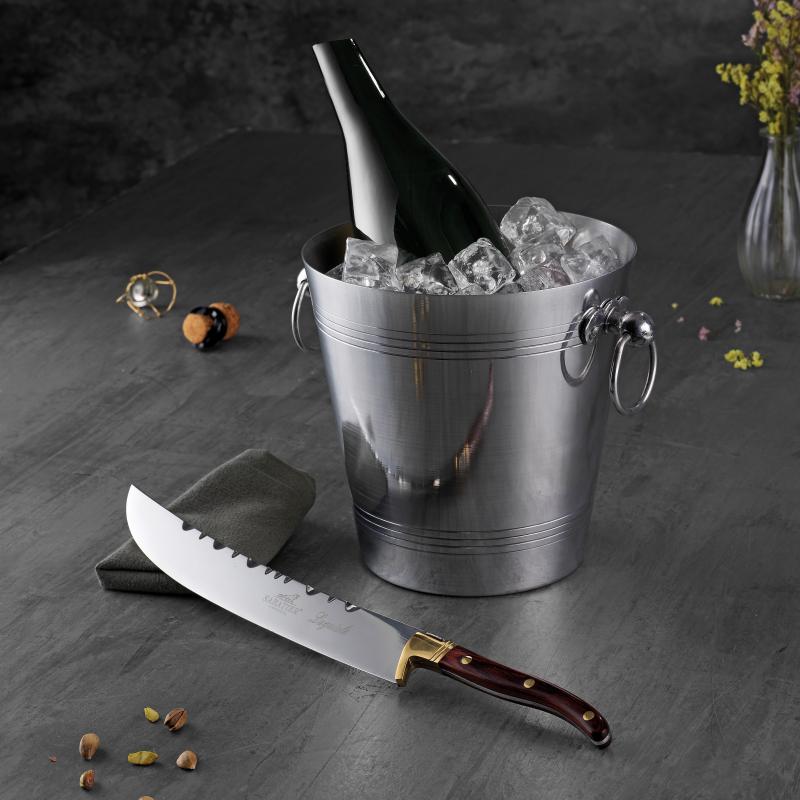 Sabatier Champagnesabel og Champagne/vinkøler