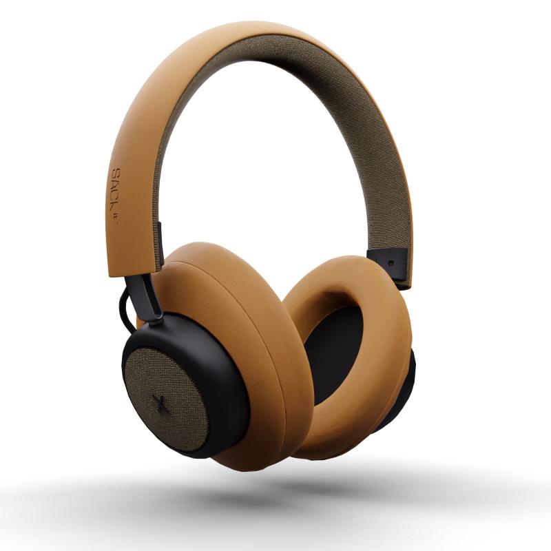 SACKit - TOUCHit Over-Ear Høretelefoner Guld - 70025
