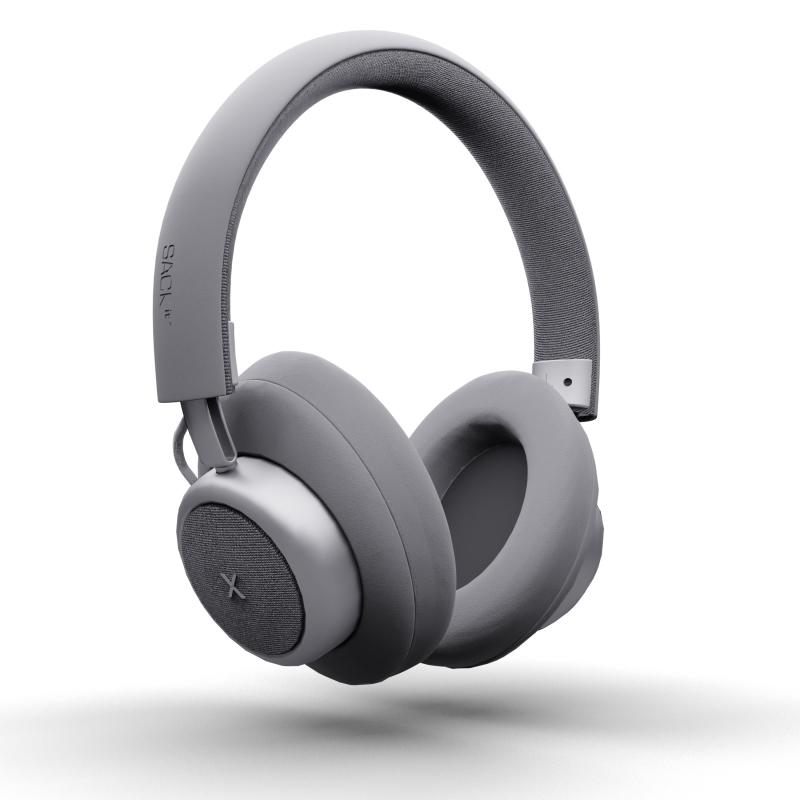 SACKit - TOUCHit Over-Ear Høretelefoner Sølv - 70024