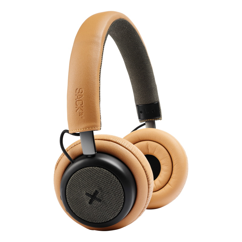 SACKit - TOUCHit Over-Ear Høretelefoner Guld - 70022