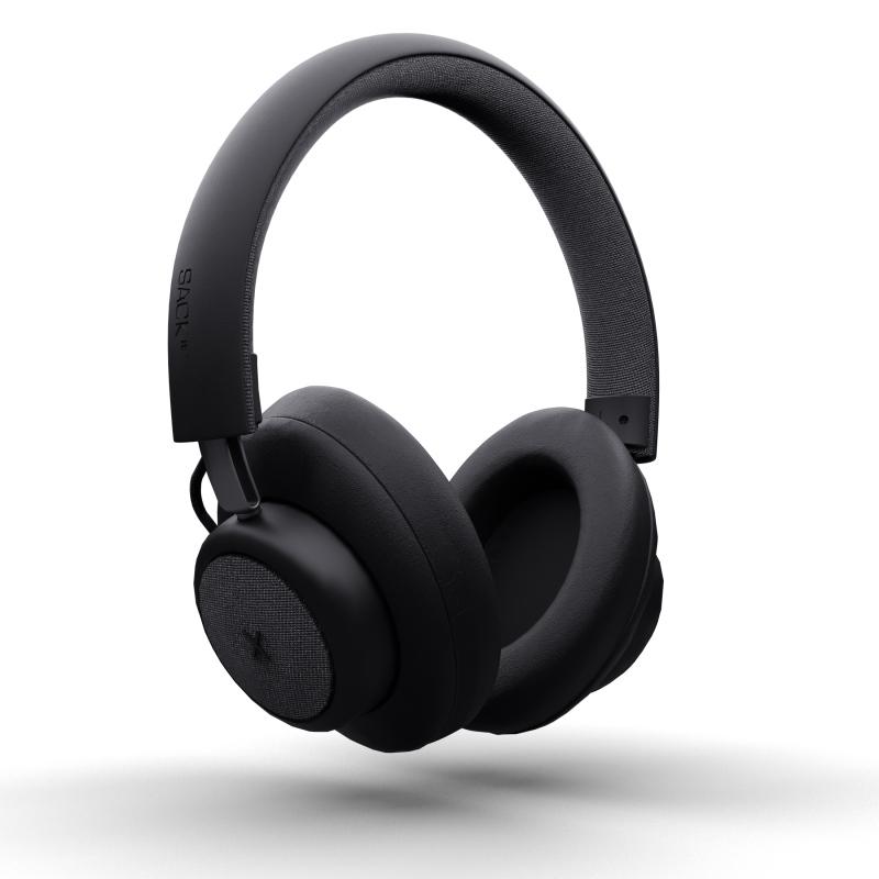 SACKit - TOUCHit Over-Ear Høretelefoner Sort - 70023