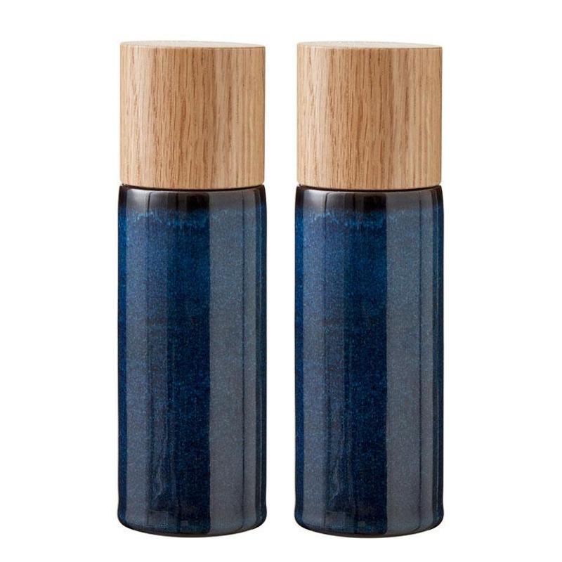 Bitz - Salt- og Peberkværne Mørkeblå Blank - 821502