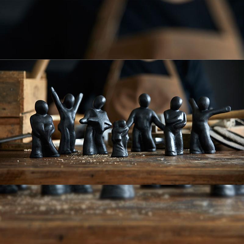 Morsø - Skulptur i Støbejern