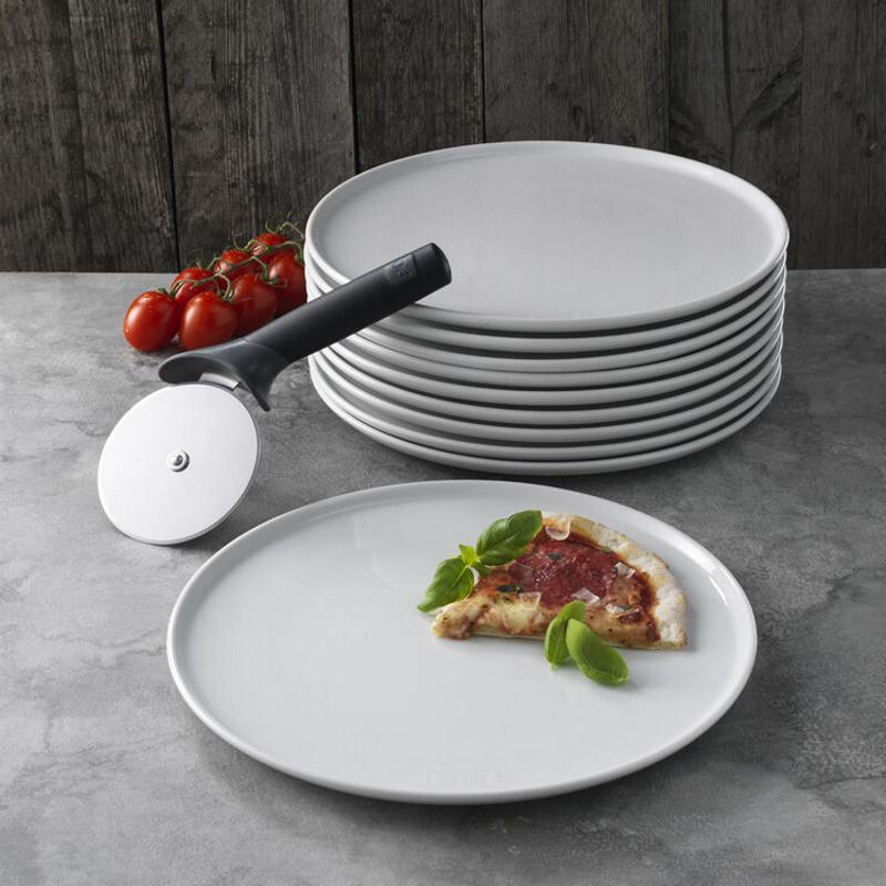 Weber - Pizzahjul & Tallerkner til 10 personer
