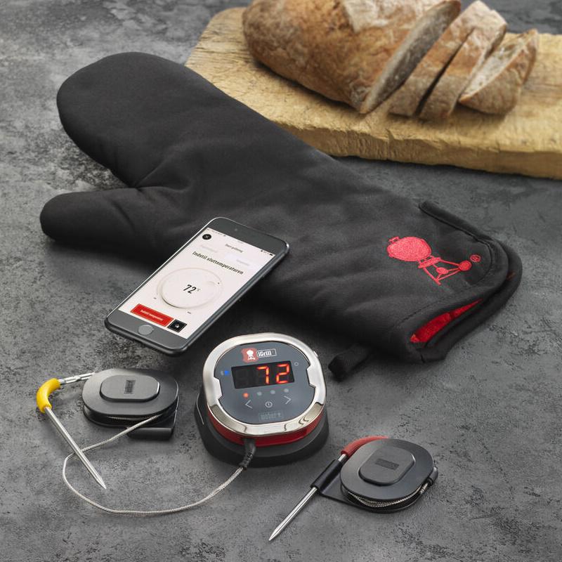 Weber - Digitalt Grill-Termometer med Handske