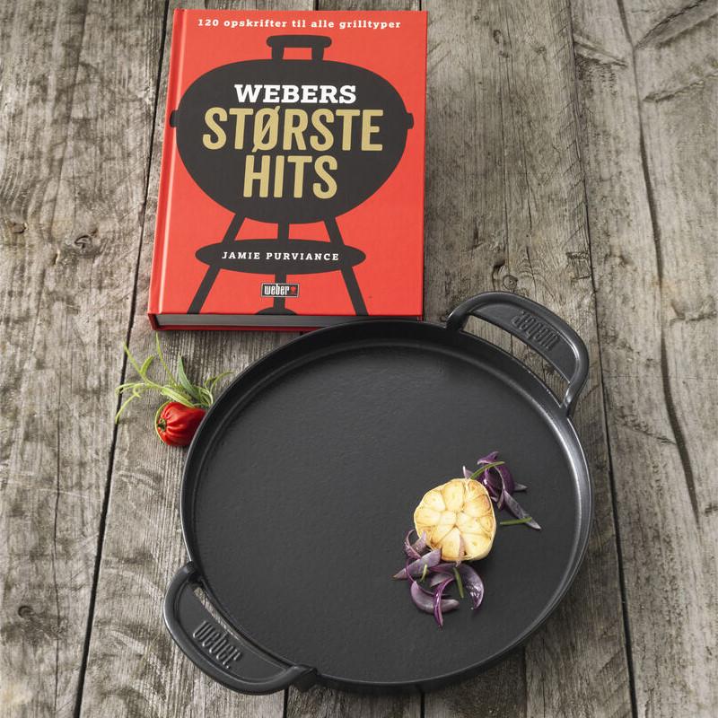 Weber - Støbejernspande & Opskriftsbog