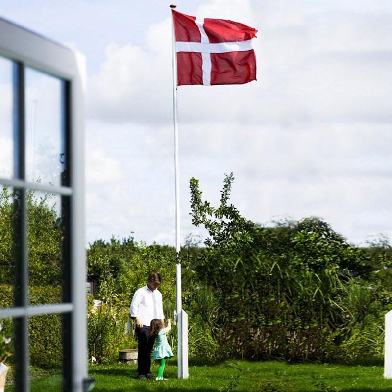 Langkilde & Søn - Flagpakke til 8 m flagstang