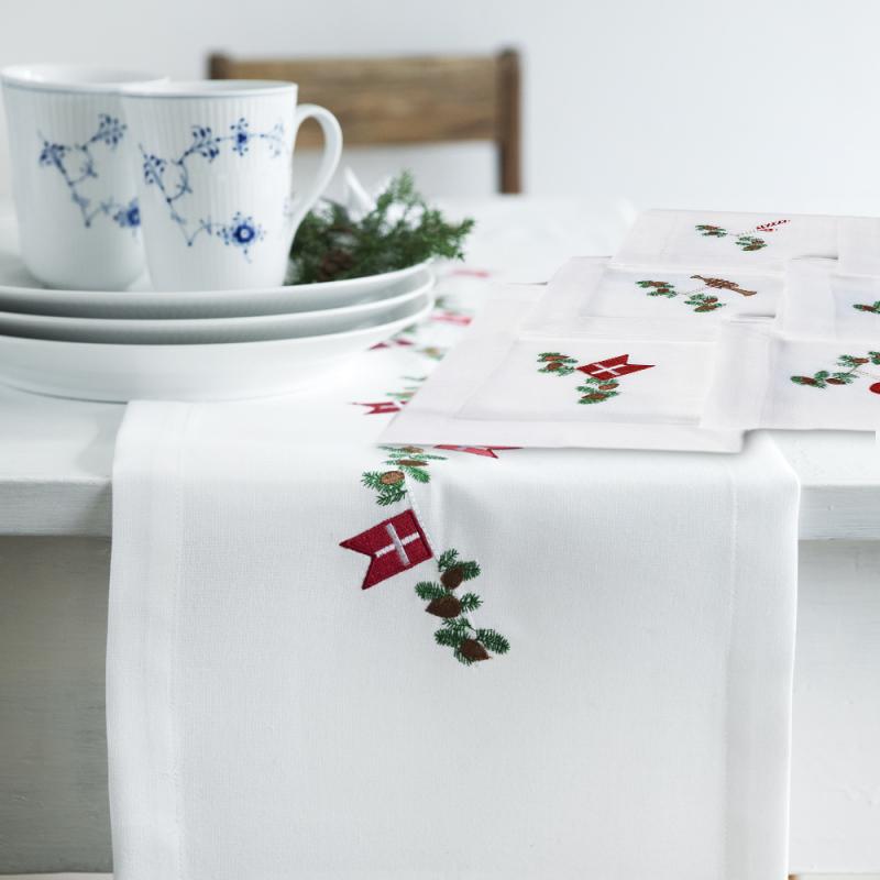Langkilde & Søn - New Julebordløber og Juleservietter