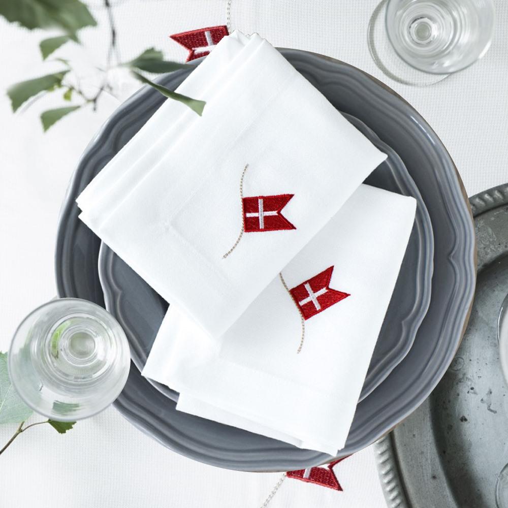 Langkilde & Søn - New Fødselsdagsdug- og Servietter