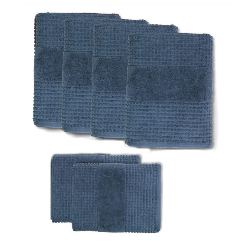 Rosendahl - Check Håndklædepakke Mørkeblå - 25278