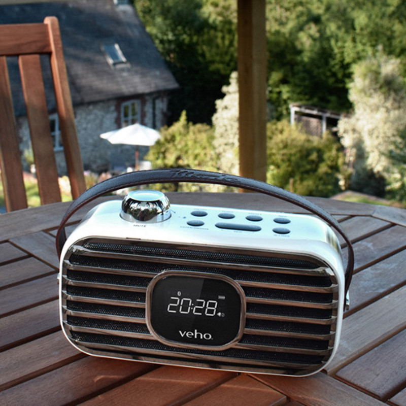 Veho - MD-1 trådløs højttaler med DAB-radio
