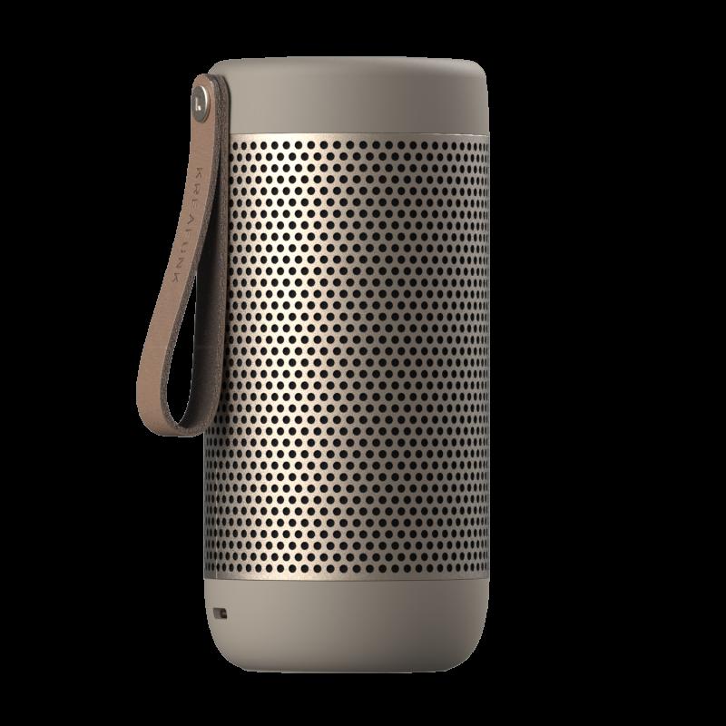 KREAFUNK - aCOUSTIC Bluetooth Højtaler Sand - KFXWT49
