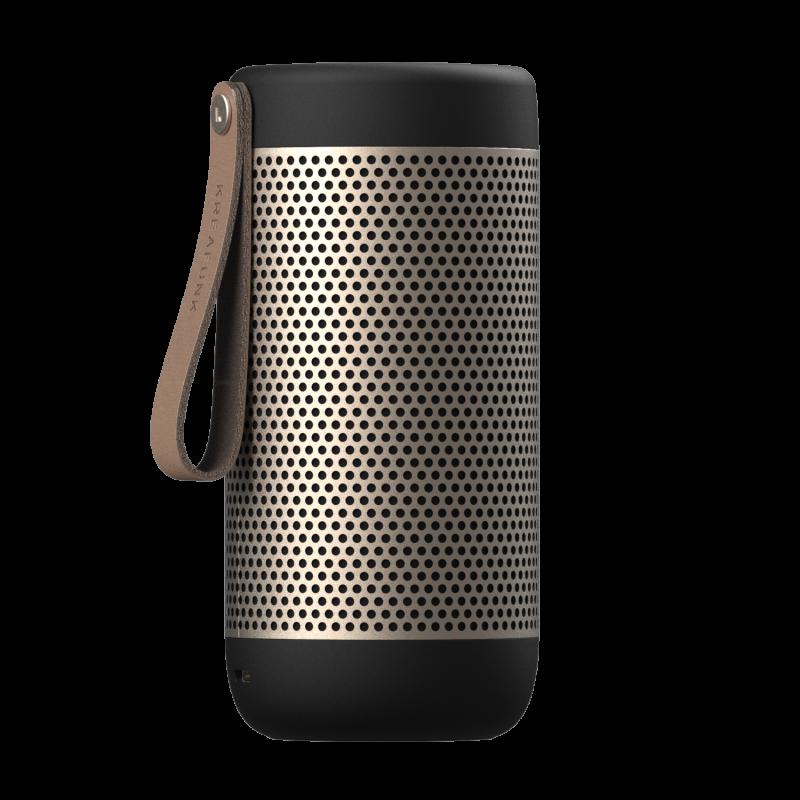 KREAFUNK - aCOUSTIC Bluetooth Højtaler Sort - KFXWT42