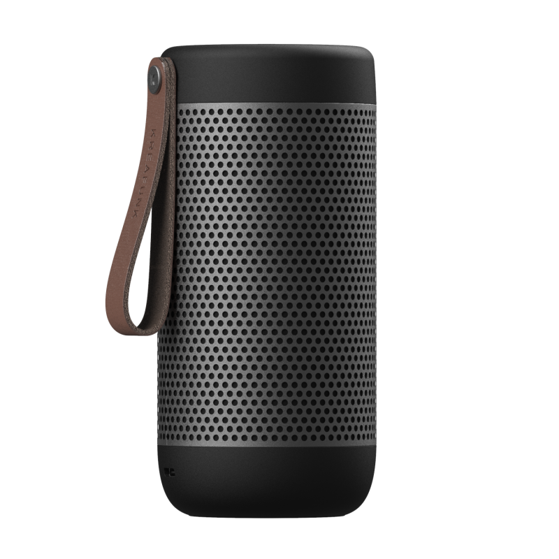 KREAFUNK - aCOUSTIC Bluetooth Højtaler Black Gunmetal - KFXWT40
