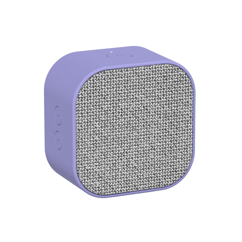 KREAFUNK - aCUBE Bluetooth Højtaler Lavendel - KFXWT28