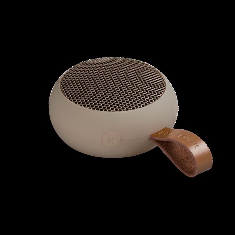 KREAFUNK - aGO Bluetooth Højtaler Sand - KFXWT39