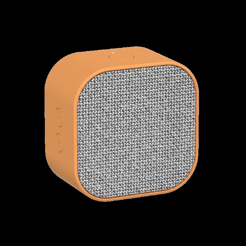 KREAFUNK - aCUBE Bluetooth Højtaler Orange - KFXWT25
