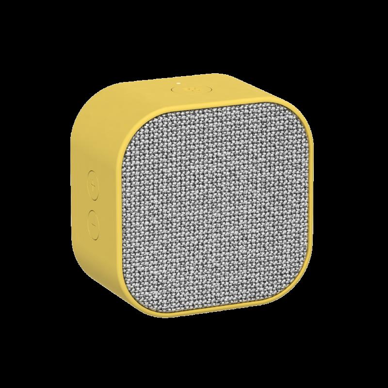 KREAFUNK - aCUBE Bluetooth Højtaler Gul - KFXWT26