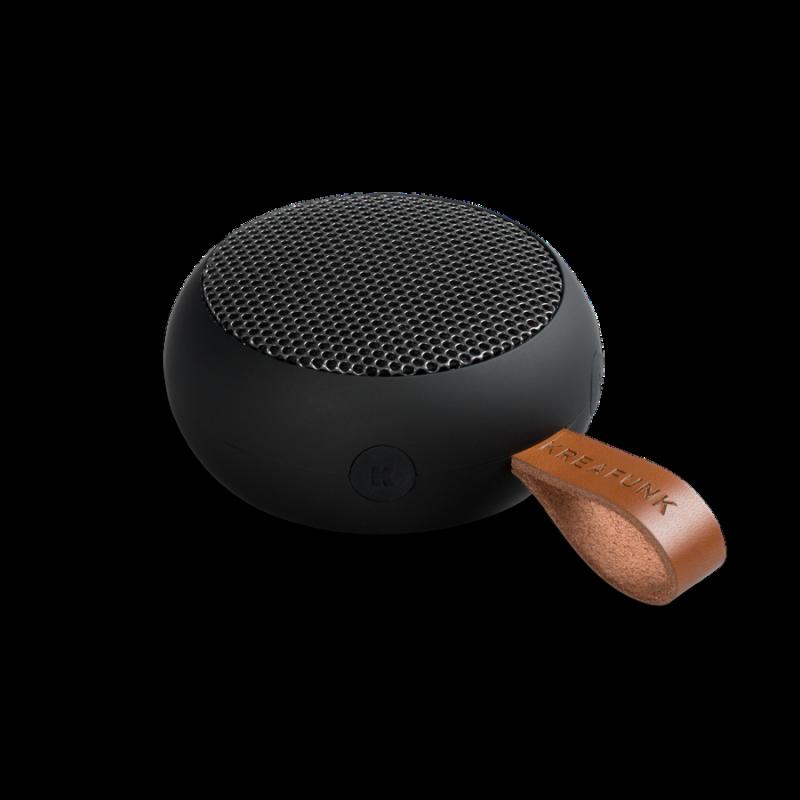 KREAFUNK - aGO Bluetooth Højtaler Black Gunmetal - KFXWT30