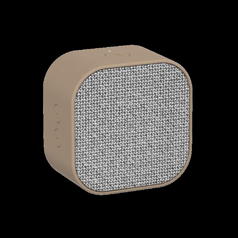 KREAFUNK - aCUBE Bluetooth Højtaler Sand - KFXWT29