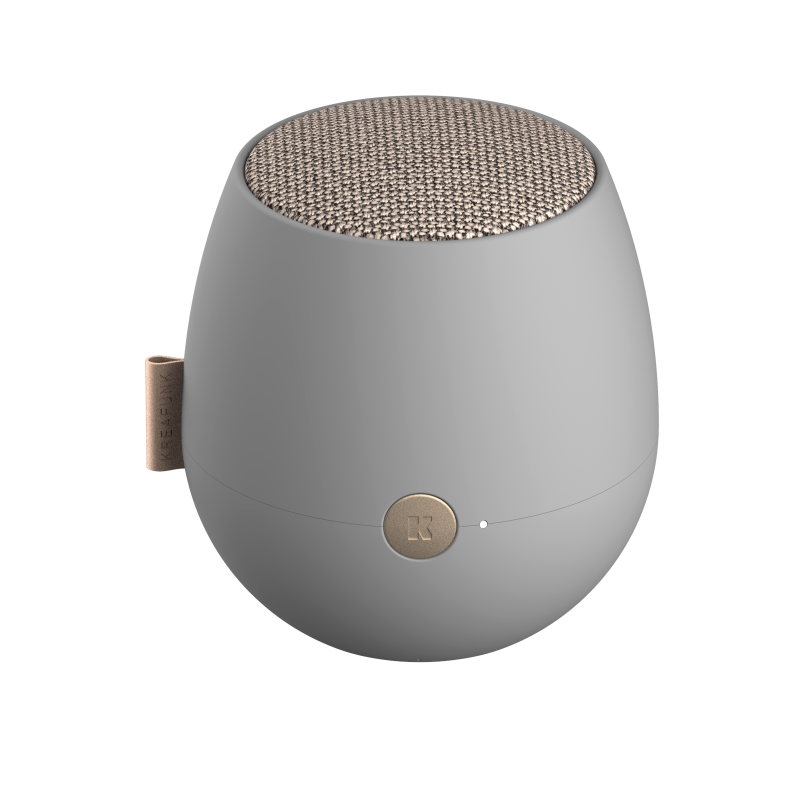 KREAFUNK - aJAZZ QI Bluetooth Højtaler Grå - KFXWT64QI