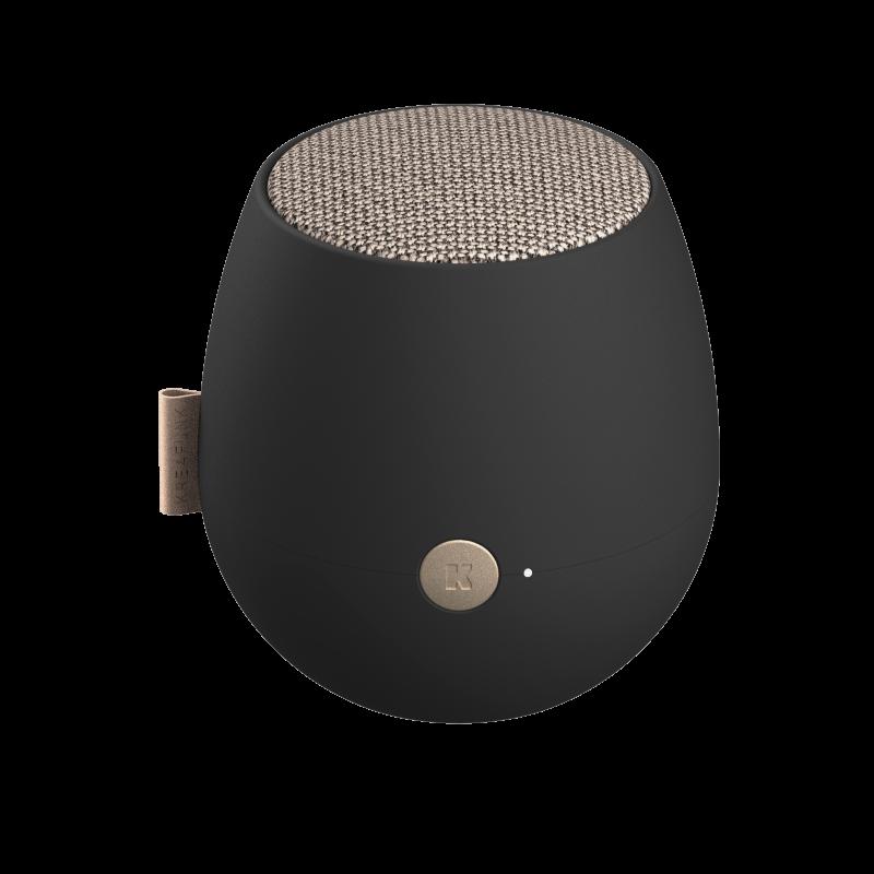 KREAFUNK - aJAZZ QI Bluetooth Højtaler Sort - KFXWT62QI