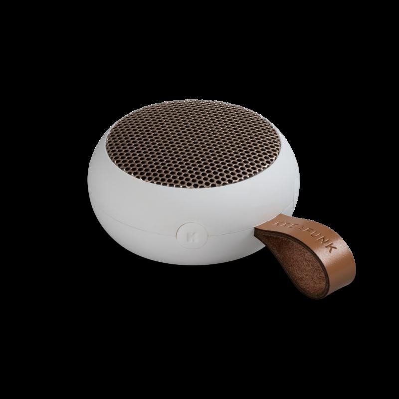 KREAFUNK - aGO Bluetooth Højtaler Hvid - KFXWT31