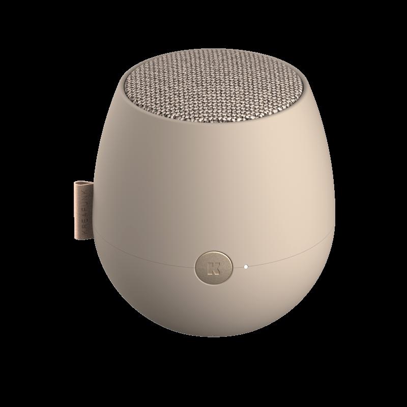 KREAFUNK - aJAZZ QI Bluetooth Højtaler Sand - KFXWT69QI