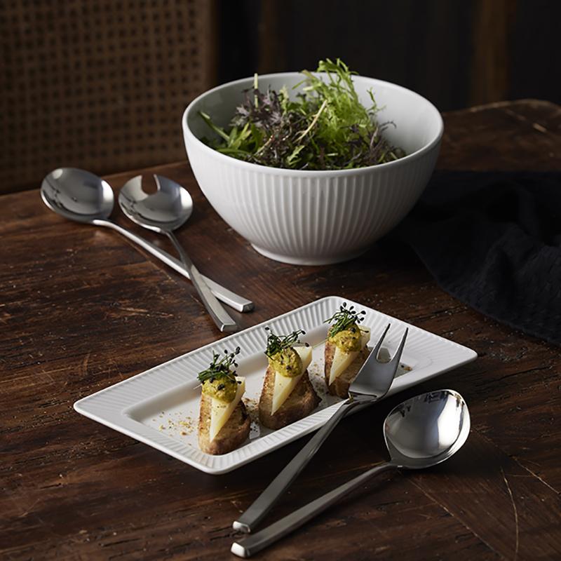 Elegant servering med Pillivuyt og Gense