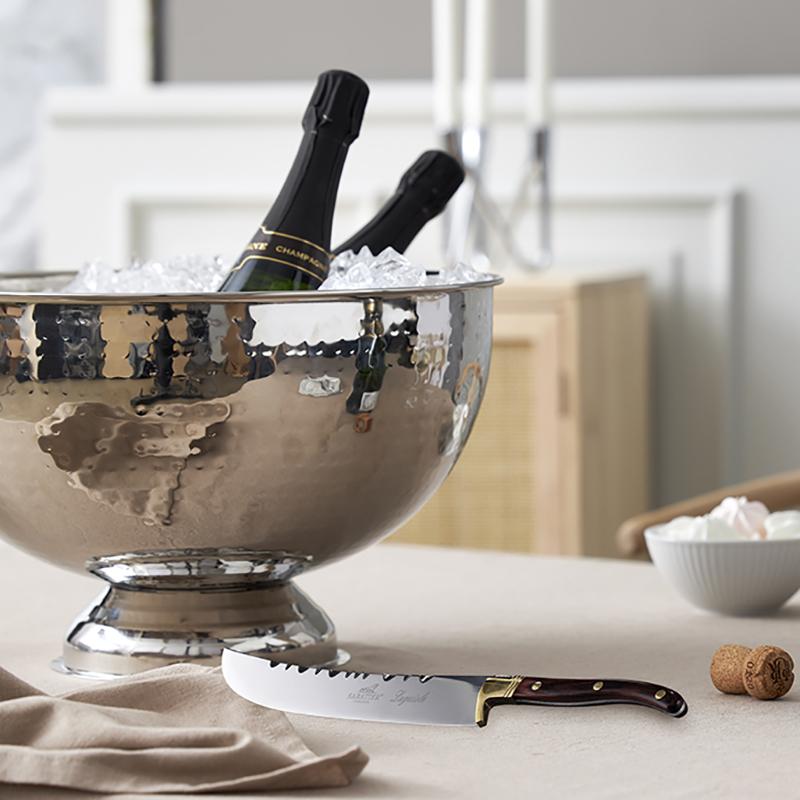 Champagnebowl med sabel