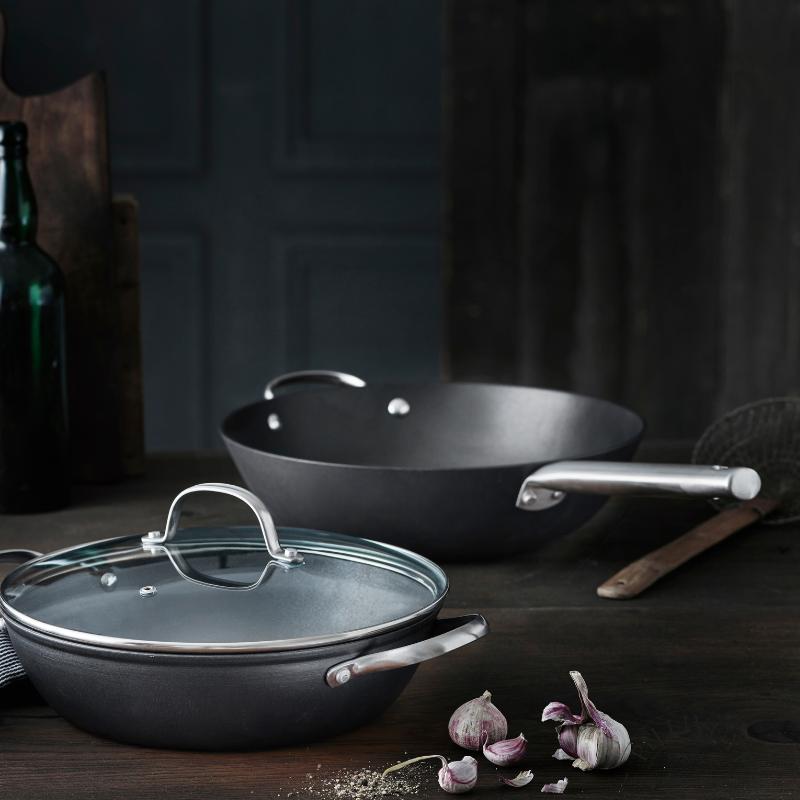 Pillivuyt gourmet gryde og wok