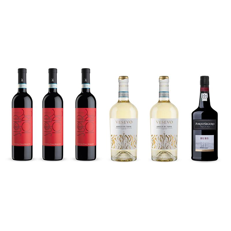 Vinpakke samt portvin