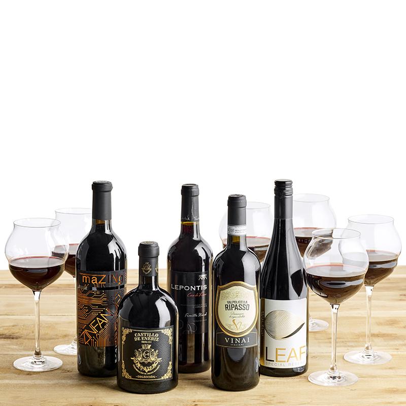 Vinpakke, Maracon glas og verden rundt