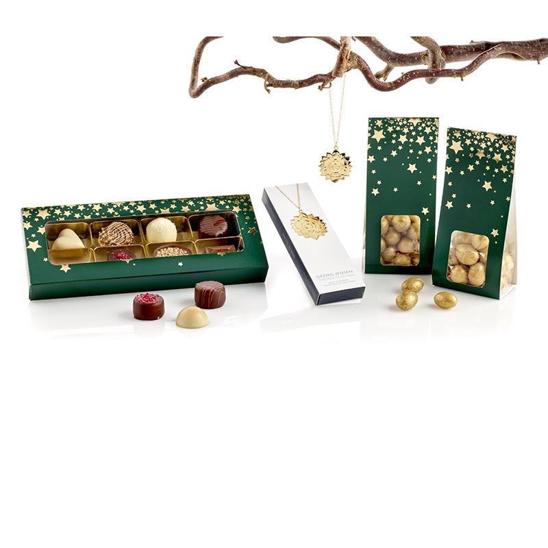 Georg Jensen julepynt og chokolade