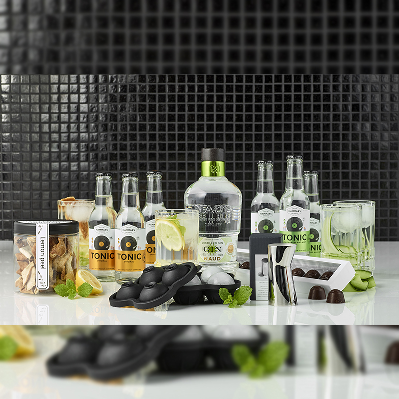 Naud Gin & Tonic samt glas - Deluxe