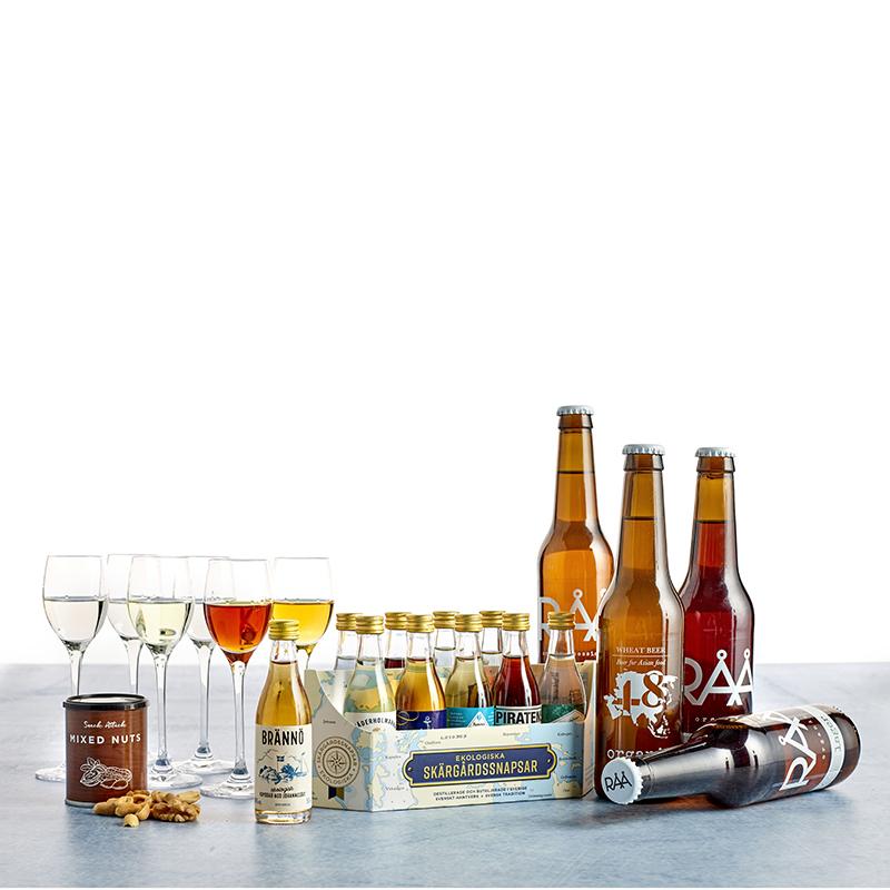 Øl- og snapsesmagning