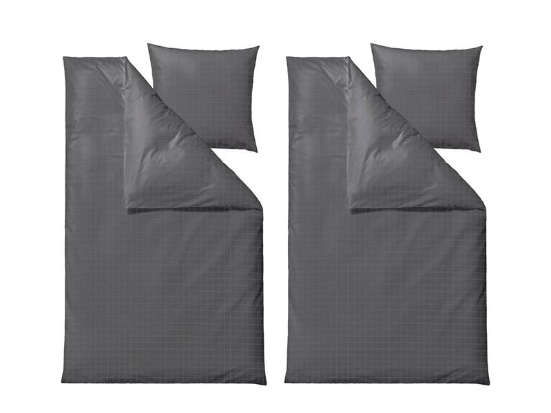 Södahl sengesæt, Clear i flere varianter 220 cm Grey - 12572