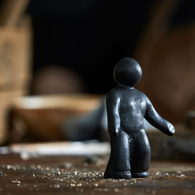Morsø skulptur  med individuelt budskab Du er omsorgsfuld, en kærlig ener af din slags - 11558