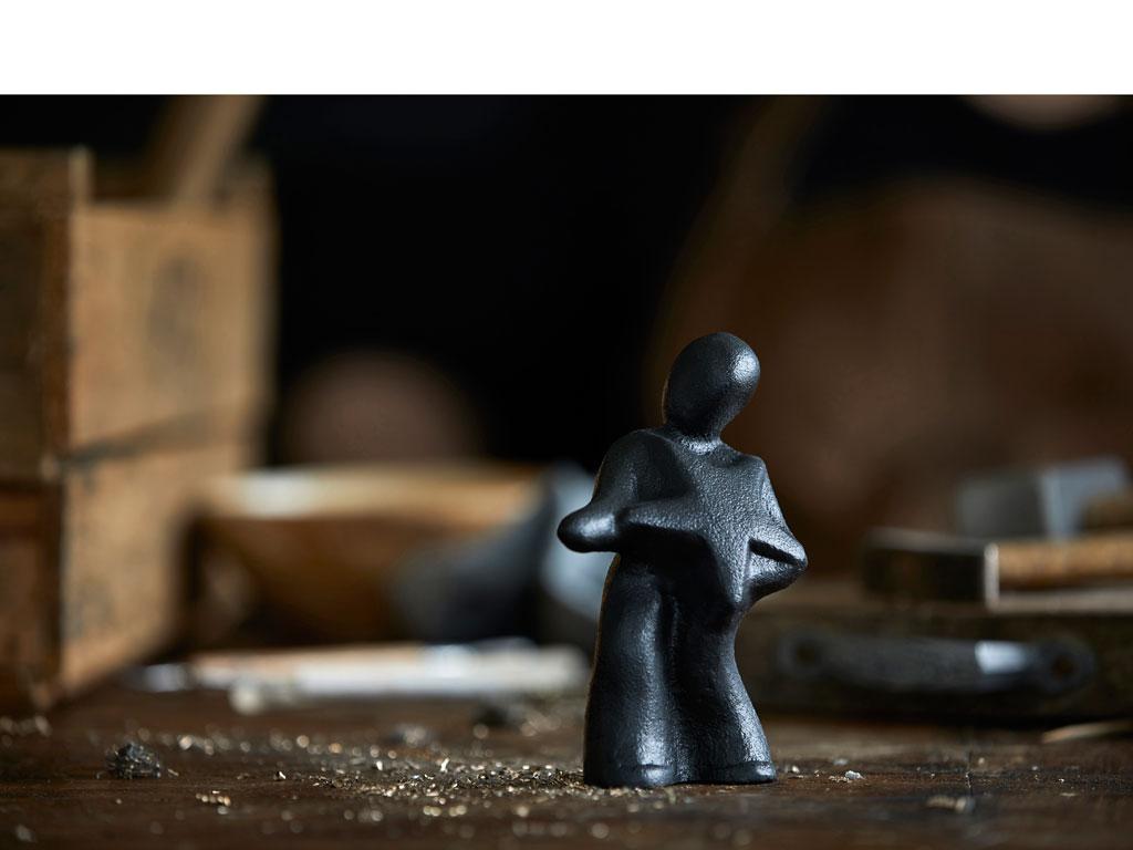 Morsø skulptur  med individuelt budskab Fang stjerne ind! Og nyd din stjernestund - 11561
