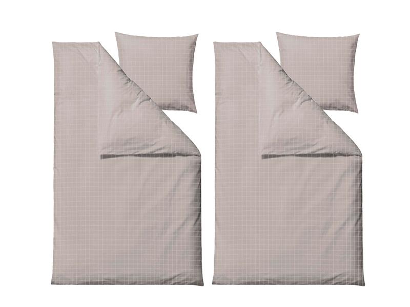 Södahl sengesæt, Clear i flere varianter 200 cm Beige - 23835