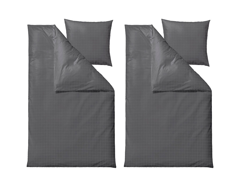 Södahl sengesæt, Clear i flere varianter 200 cm Grey - 12571