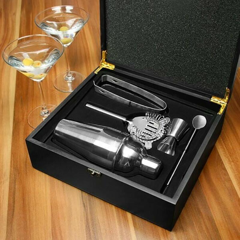 Cocktail sæt i gaveæske