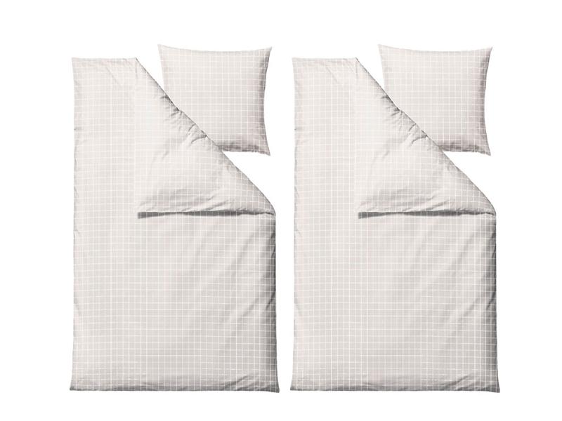 Södahl sengesæt, Clear i flere varianter 200 cm White - 12568