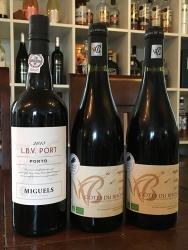 2 Flasker Rhône & LBV Portvin