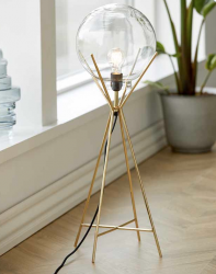A Simple Mess Lampe messing
