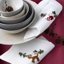 Langkilde & Søn - Juledug og Juleservietter